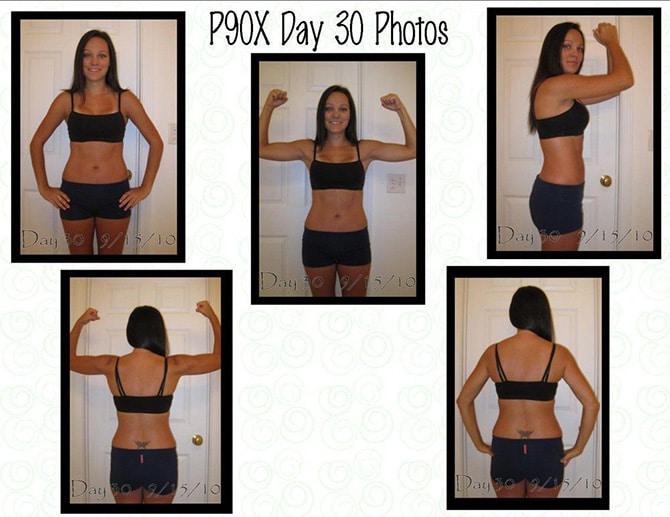 Day 30 of P90X Photos