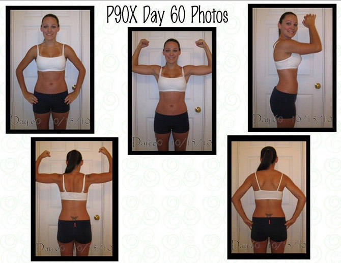 60 Days of P90X Photos