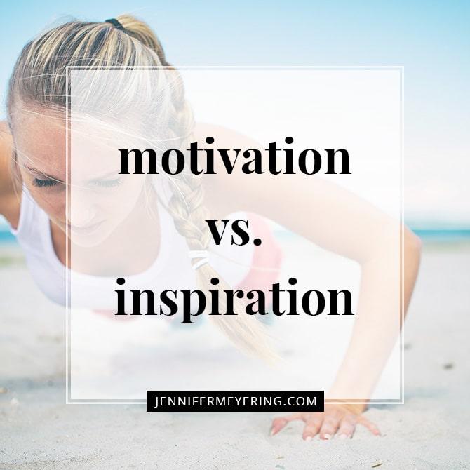Motivation vs. Inspiration
