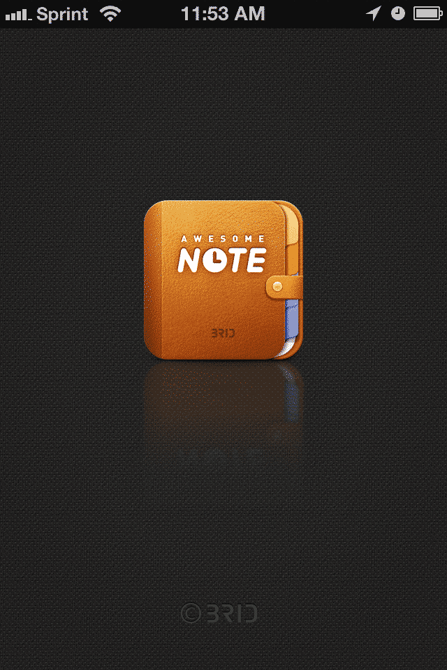 awesome note app