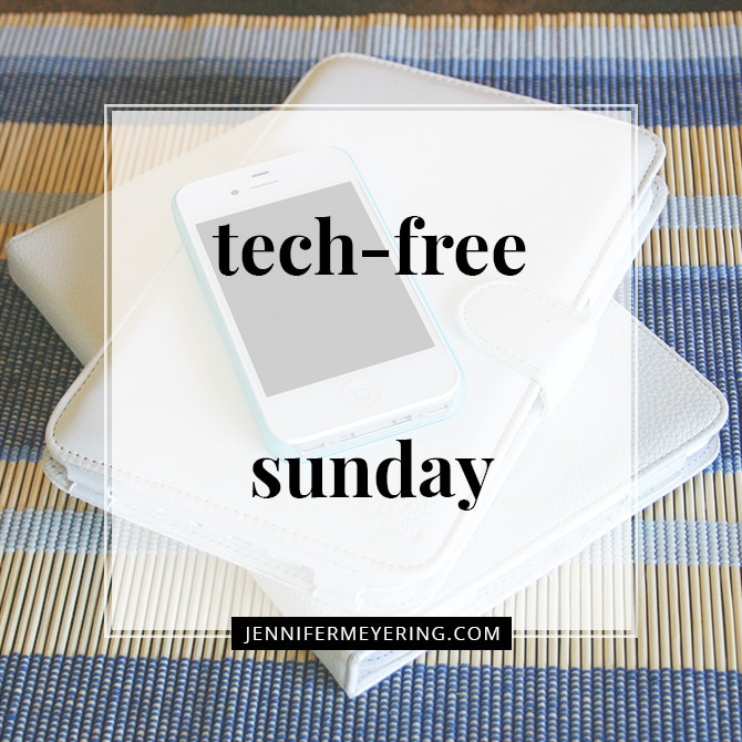 Tech-Free Sunday