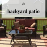 Backyard Patio - JenniferMeyering.com