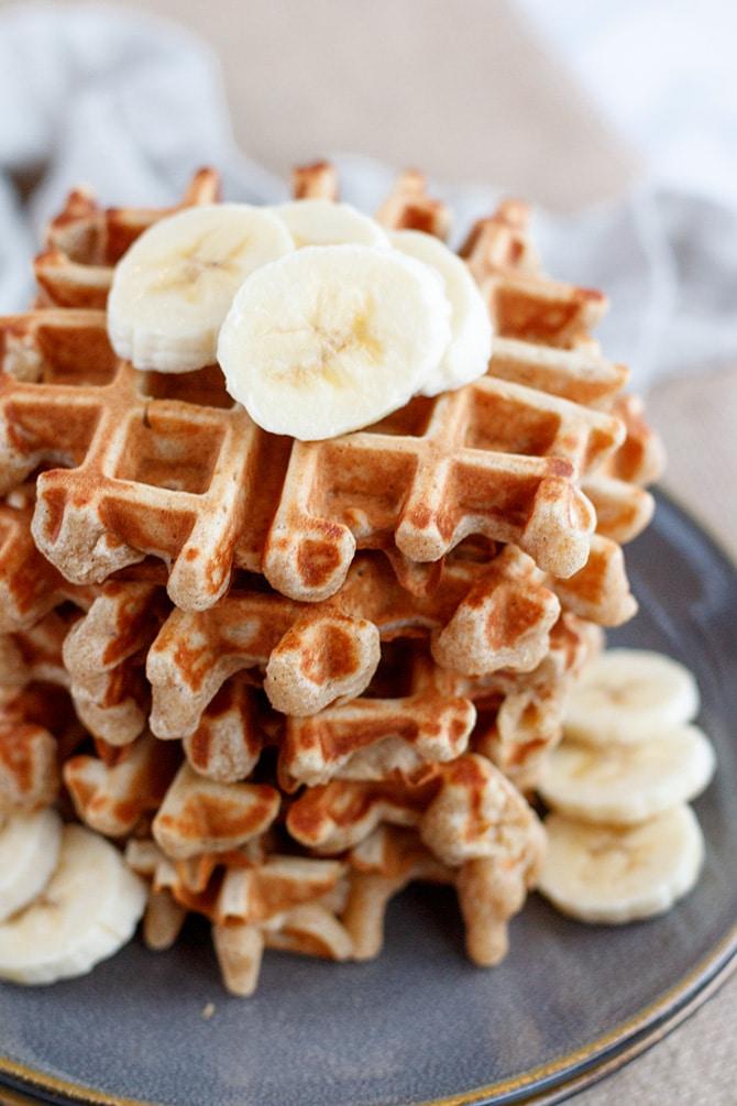 Brown Butter Banana Waffles - Jennifer Meyering