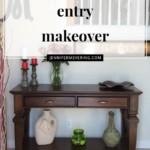 Front Entry Makeover - JenniferMeyering.com
