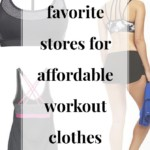 My Top 6 Stores for Affordable Workout Clothes - JenniferMeyering.com