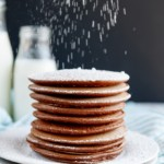 Chocolate French Silk Pancakes