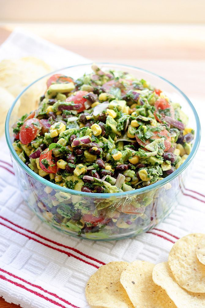Corn, Avocado, & Black Bean Summer Salad