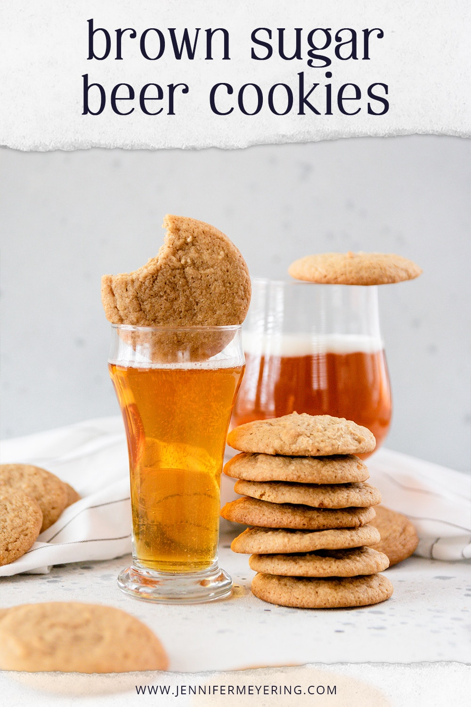 Brown Sugar Beer Cookies via @JennMeyering84