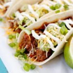Green Chili Turkey Tacos