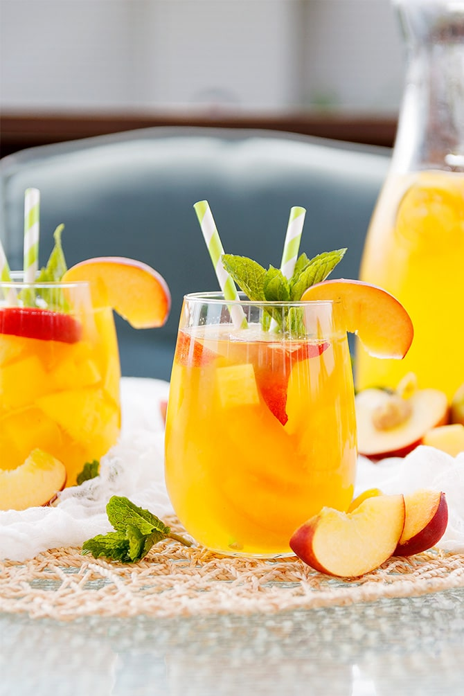 Peach Mango Sangria