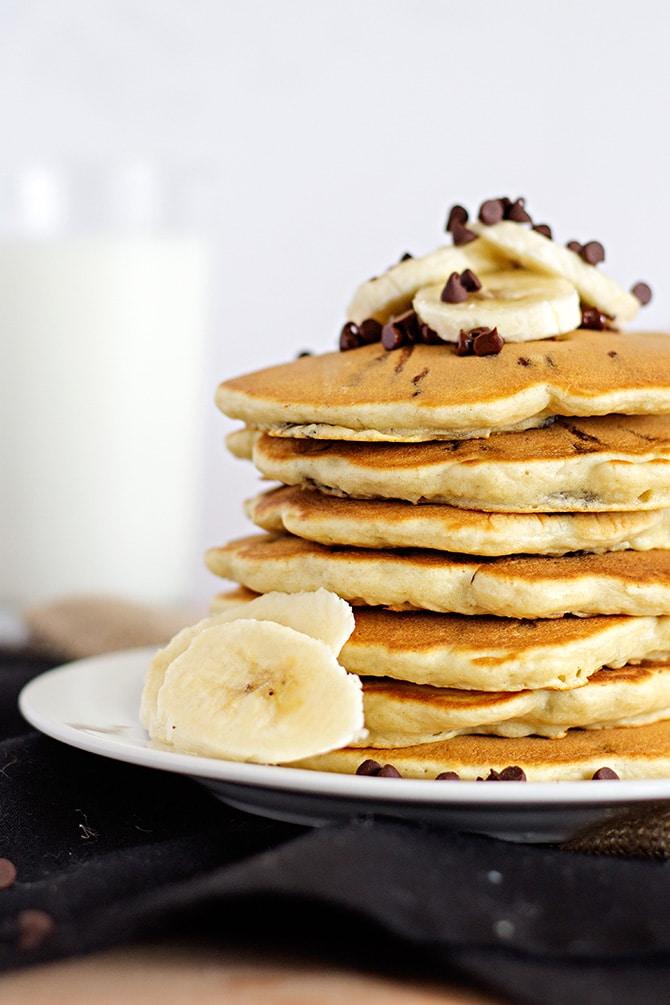 Chunky Monkey Pancakes