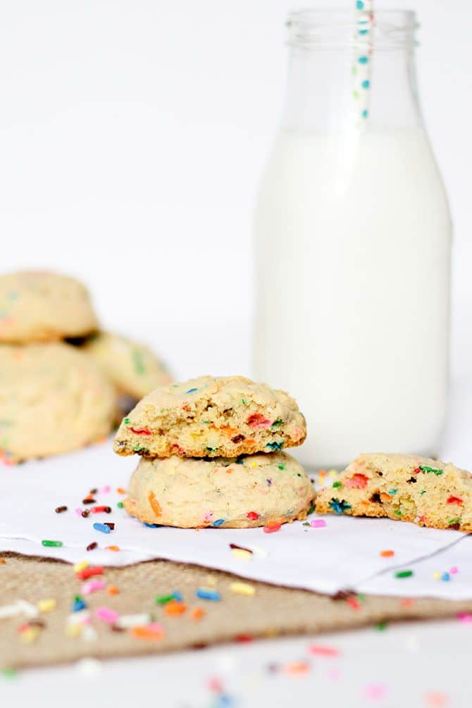 Funfetti Pudding Cookies