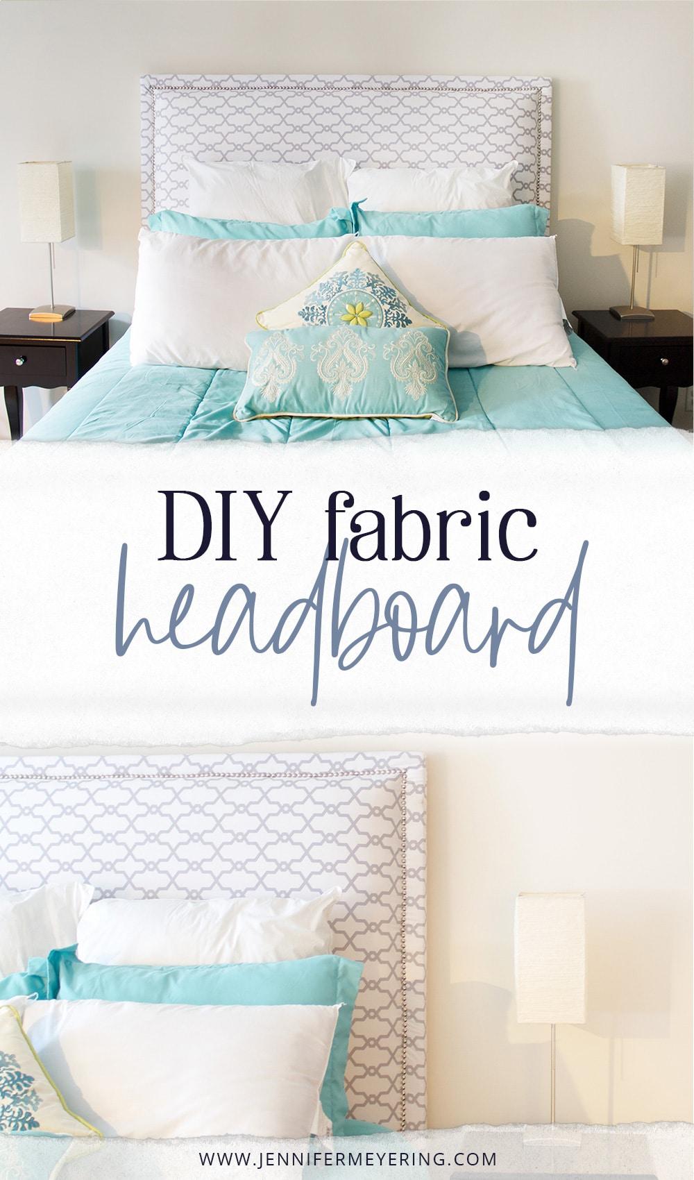 Diy Fabric Headboard Jennifer Meyering