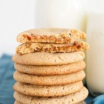 Apple Cider Caramel Cookies