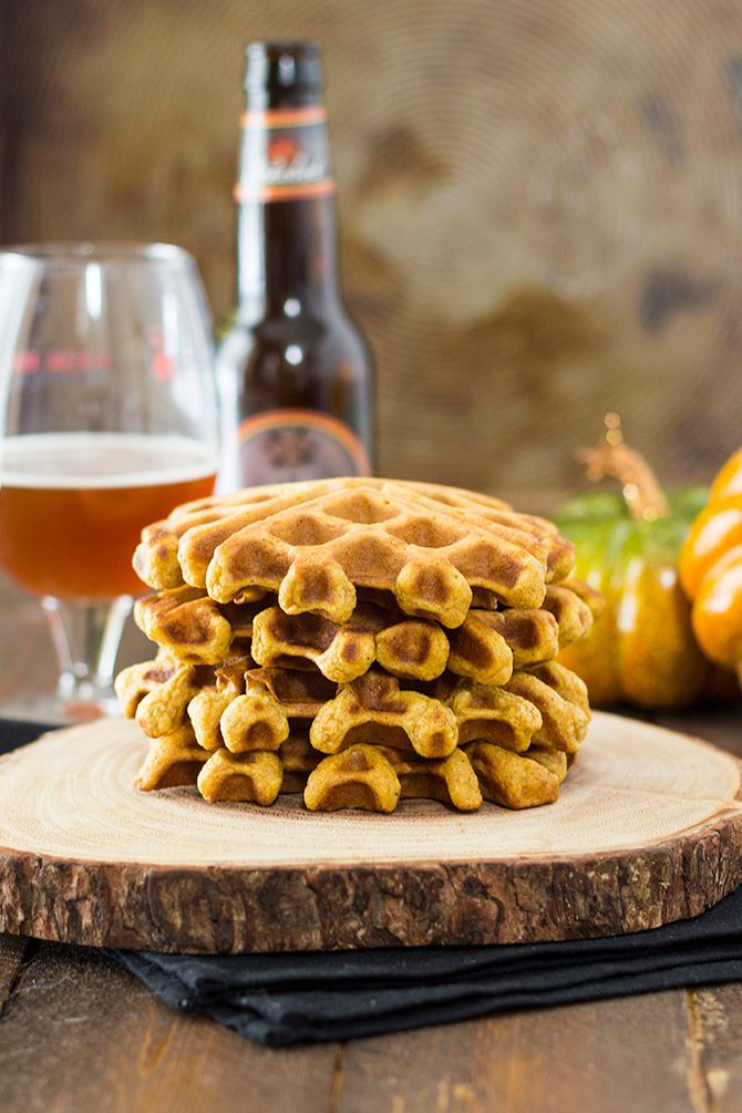 Pumpkin Beer Waffles