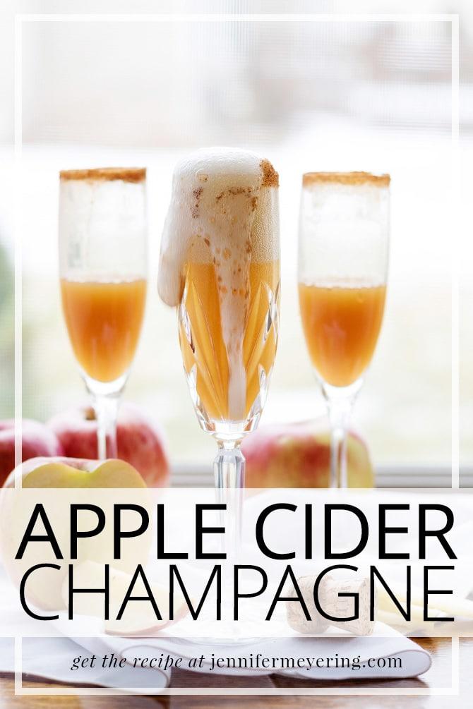 Apple Cider Champagne - JenniferMeyering.com