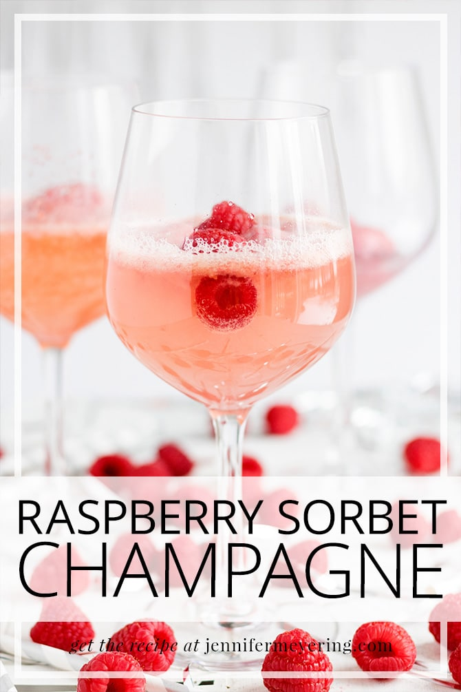 Raspberry Sorbet Champagne - JenniferMeyering.com
