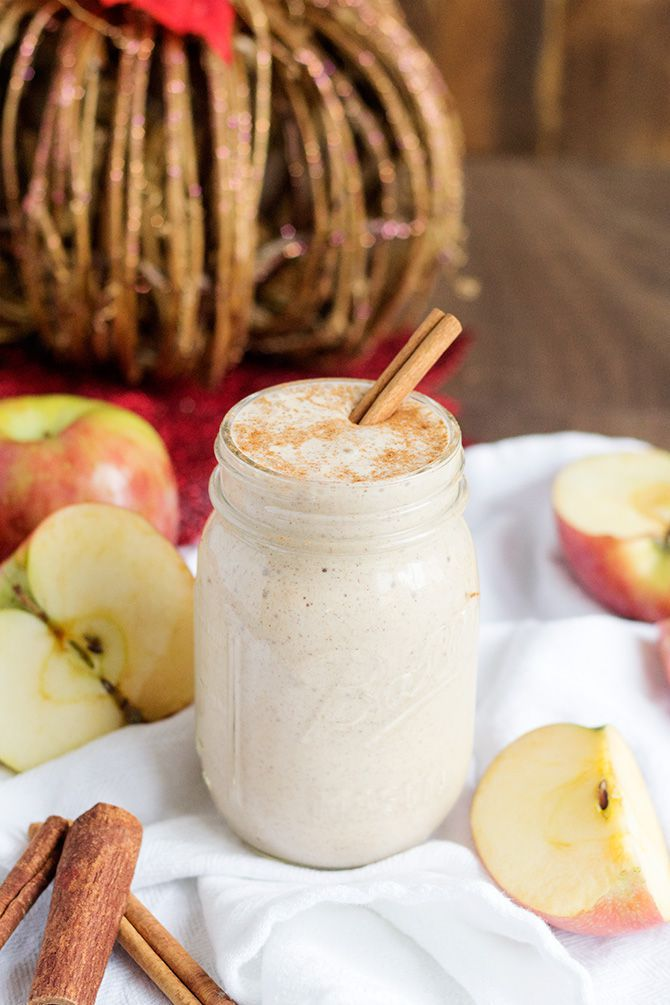 Spiced Apple Cider Smoothie