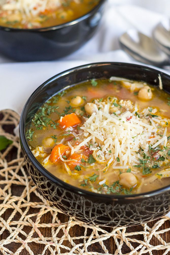 Chicken & Chickpea Stew