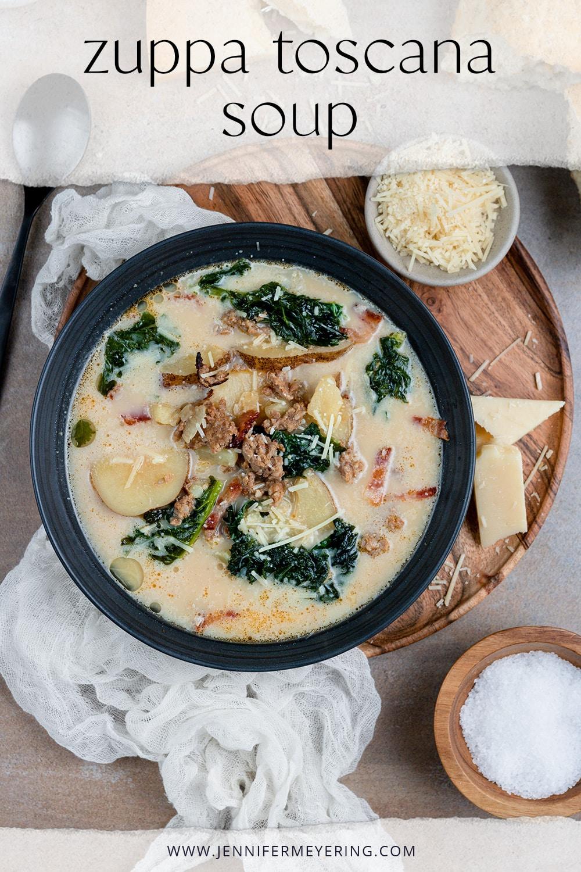 Zuppa Toscana Soup - JenniferMeyering.com