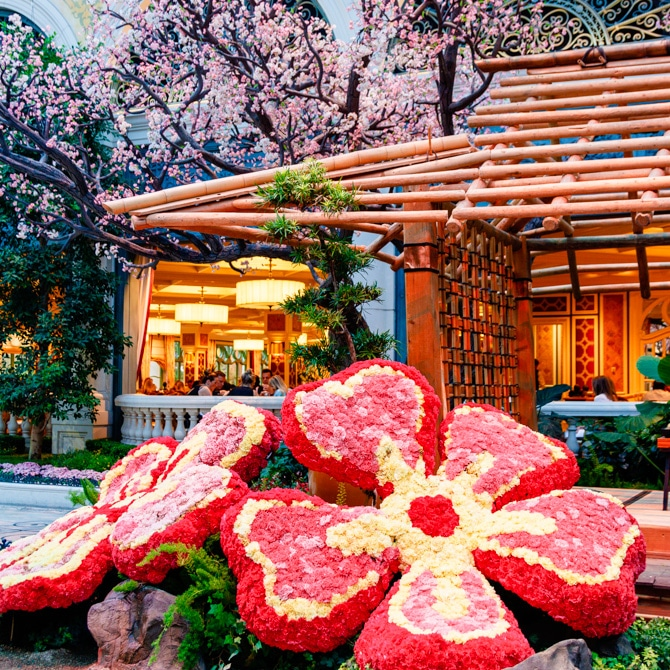Travel Guide: Las Vegas - Bellagio Gardens