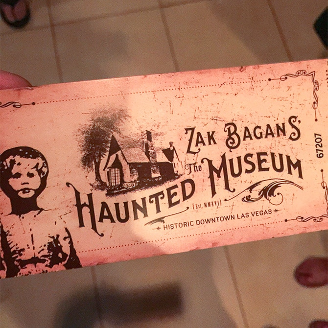 Travel Guide: Las Vegas - Haunted Museum