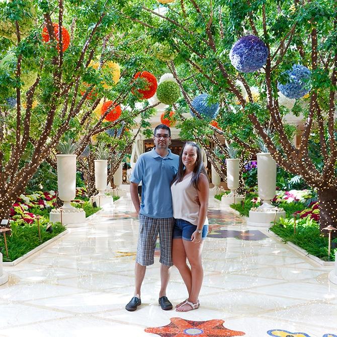 Travel Guide: Las Vegas - Wynn Gardens