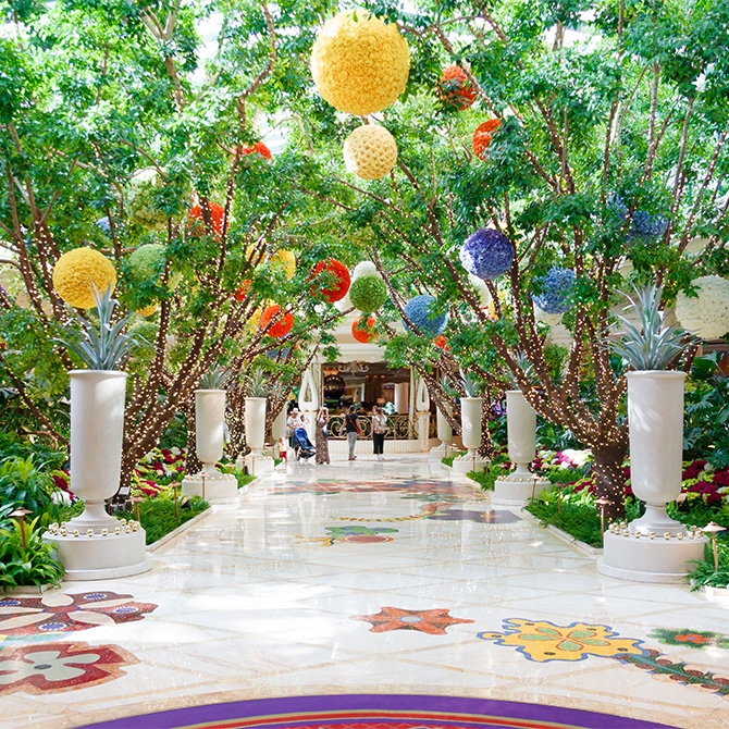 Travel Guide: Las Vegas - Wynn Gardens