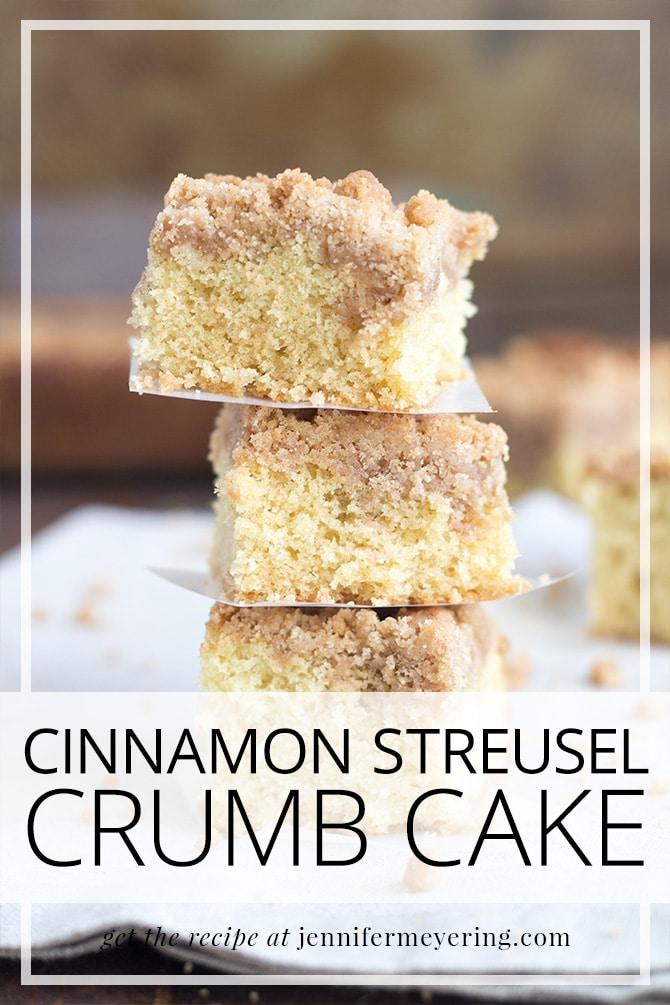 Crumb Cake - JenniferMeyering.com