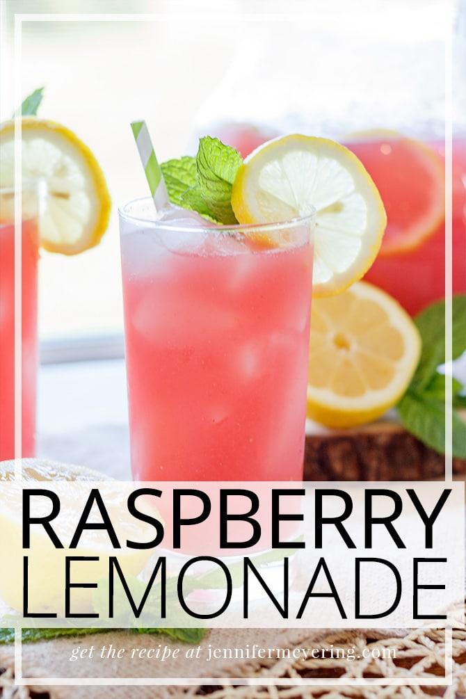 Raspberry Lemonade - JenniferMeyering.com