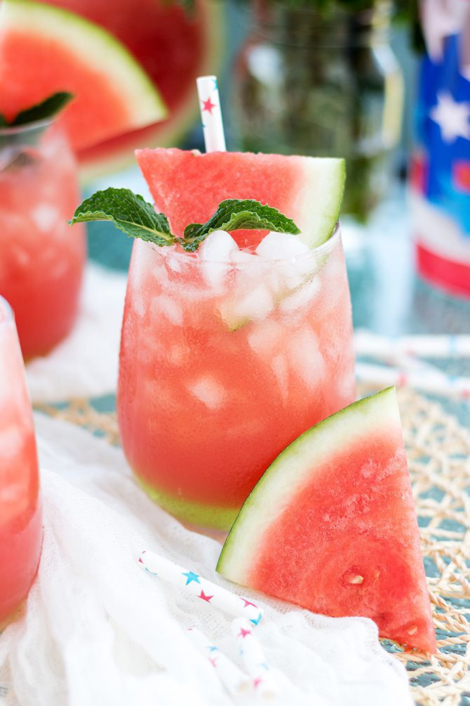 Vodka Watermelon Cooler