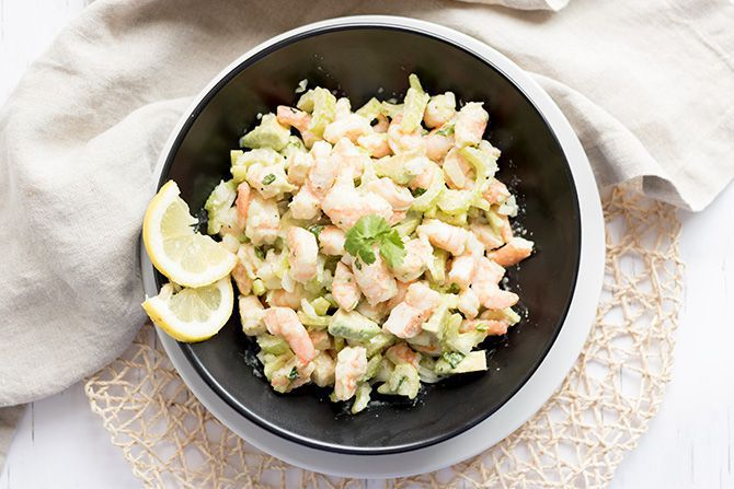Southern Shrimp Salad
