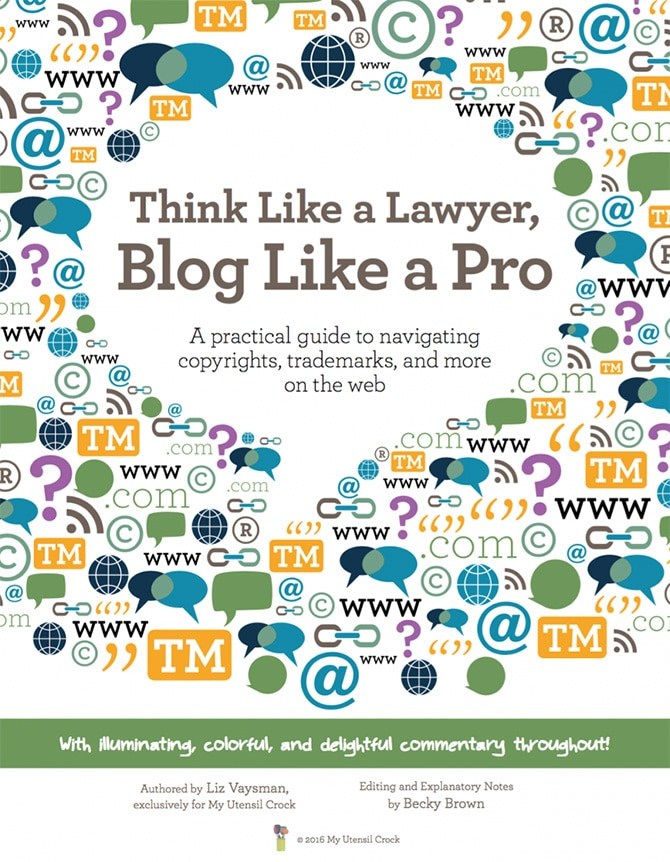 Think Like a Lawyer, Blog Like a Pro eBook