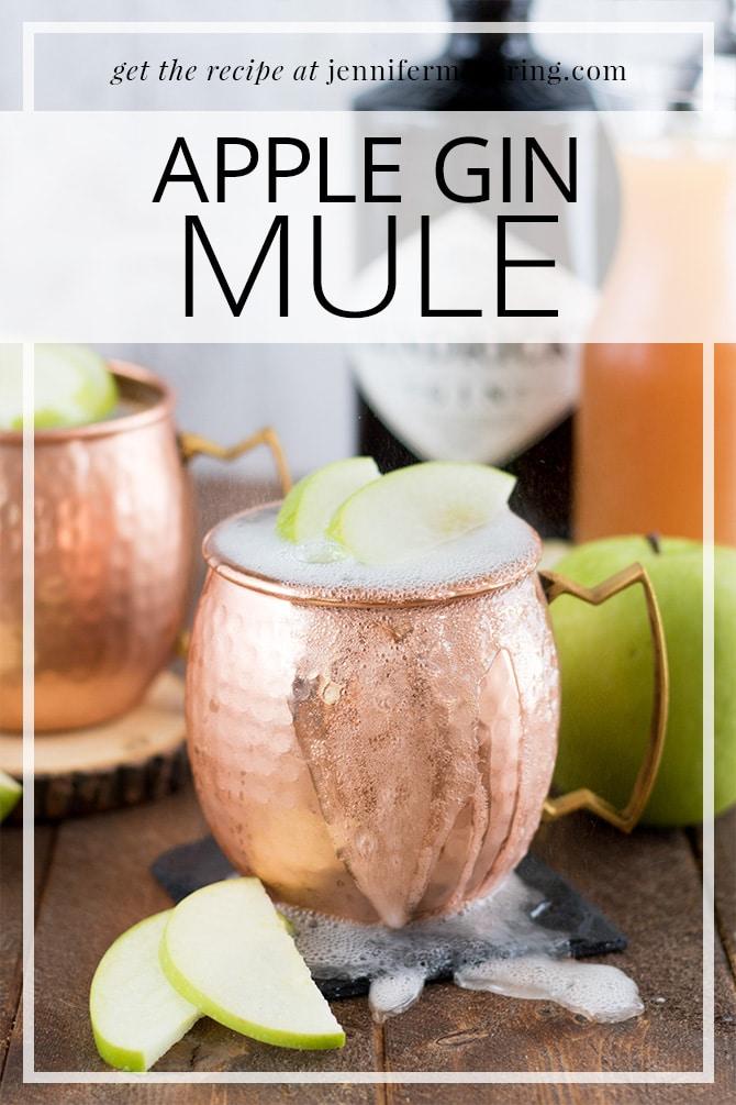 Apple Gin Mule - JenniferMeyering.com