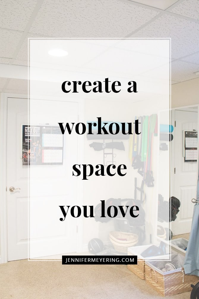 Create a Workout Space You Love