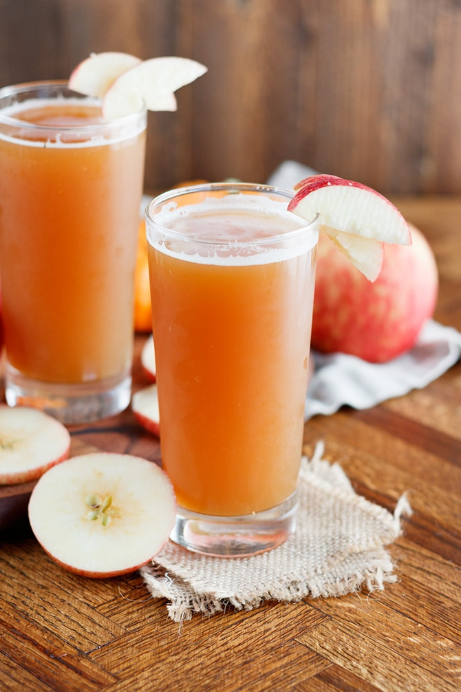 Pumpkin Apple Shandy