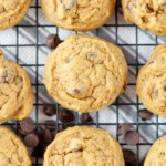 Pumpkin Espresso Chocolate Chip Cookies