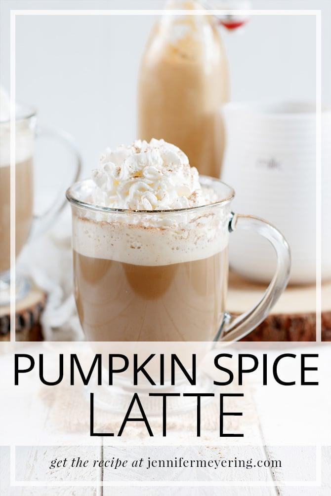 Pumpkin Spice Latte - JenniferMeyering.com