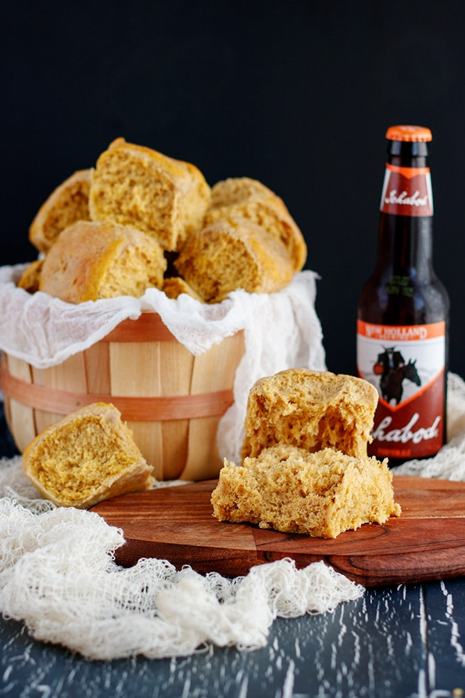 Pumpkin Beer Rolls