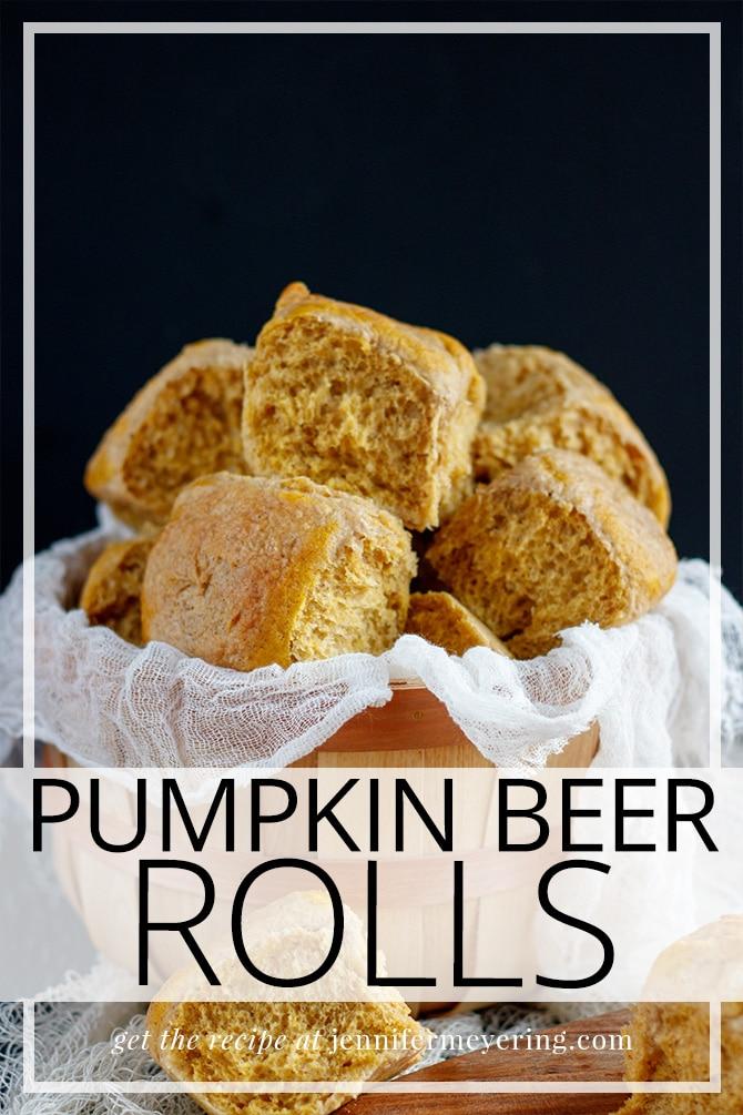 Pumpkin Beer Rolls - JenniferMeyering.com