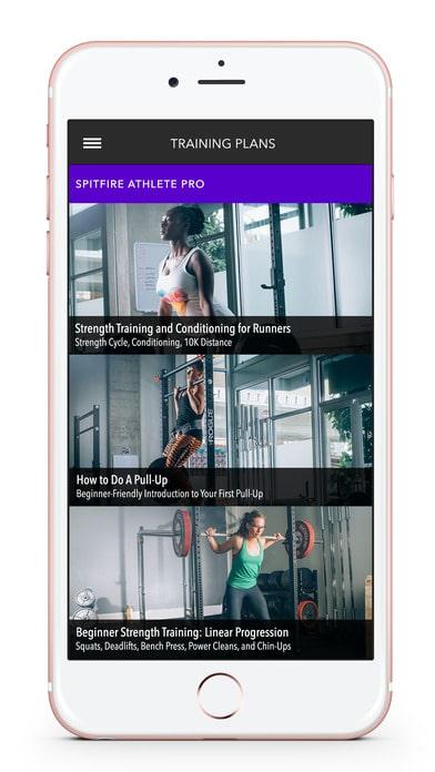 Spitfire Athlete App