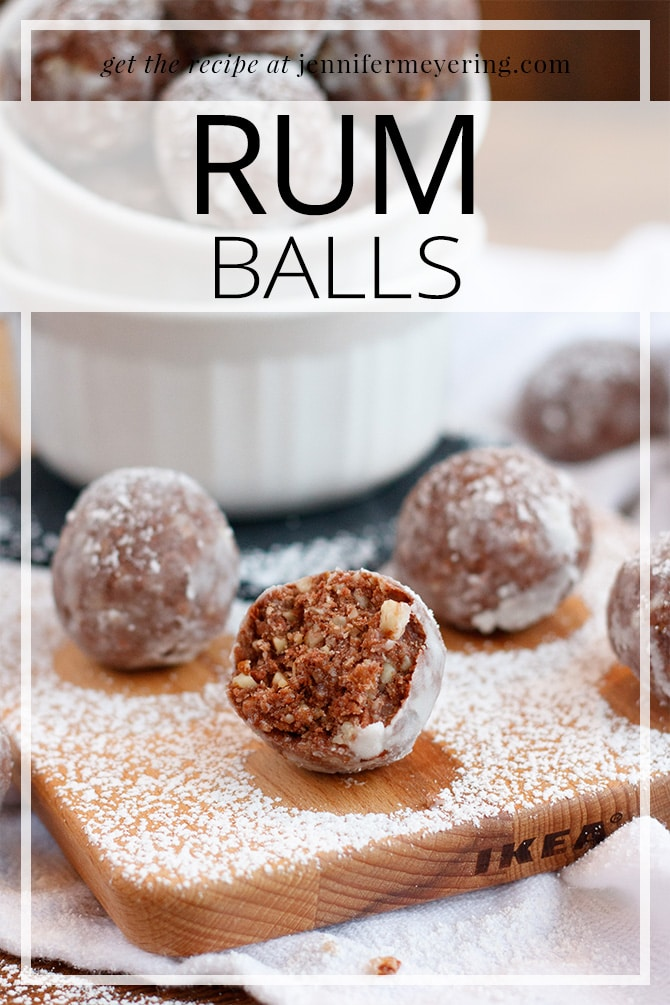 Rum Balls - JenniferMeyering.com