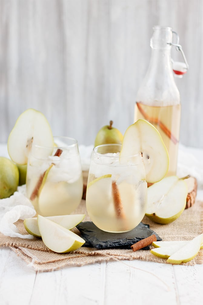 Pear Prosecco Cocktail