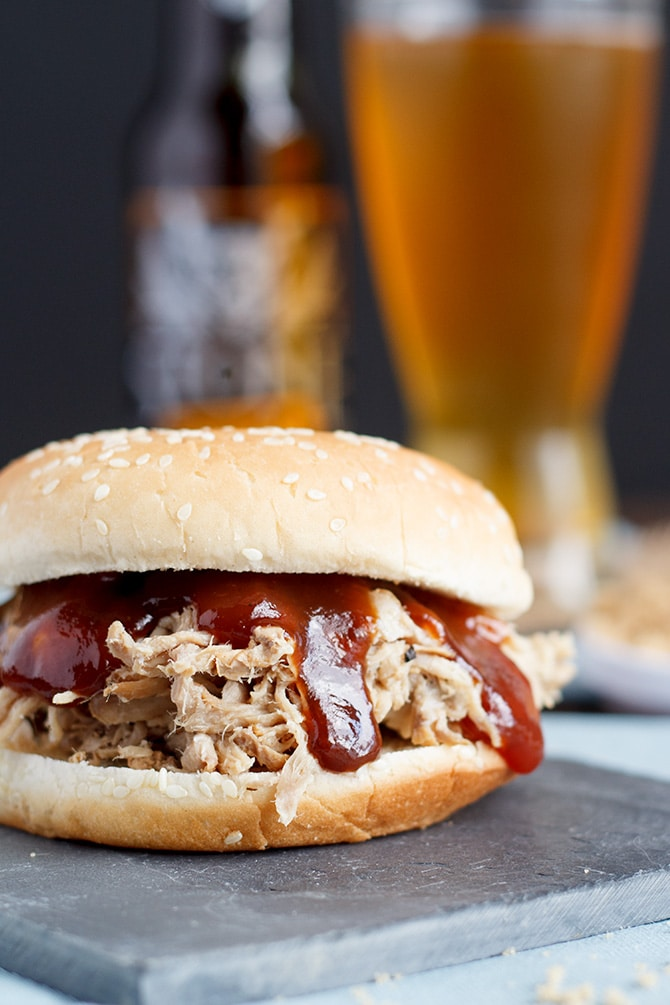 Brown Sugar Pulled Pork Sandwiches