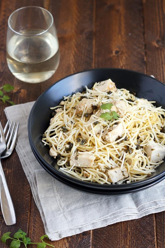 Chicken Caper Pasta