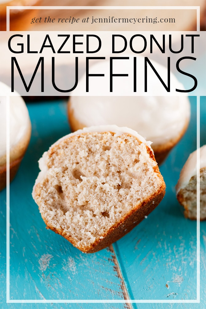 Donut Muffins - JenniferMeyering.com
