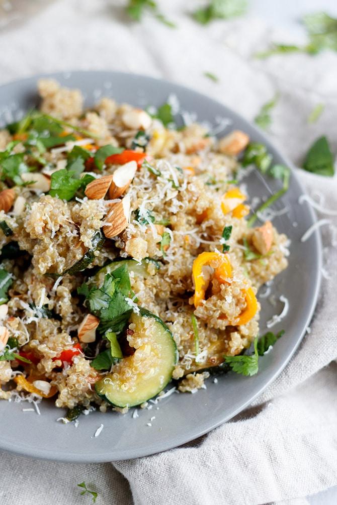 Truffle Quinoa & Veggies