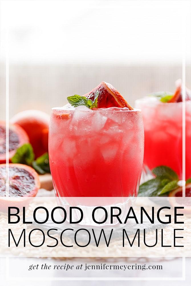 Blood Orange Mule - JenniferMeyering.com