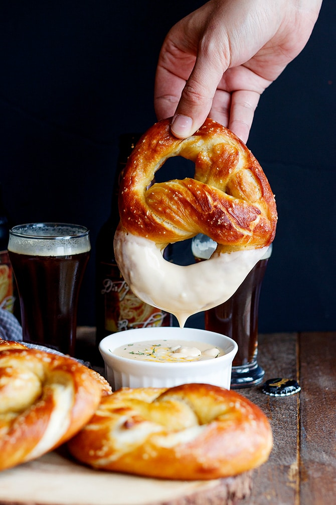 Beer Soft Pretzels