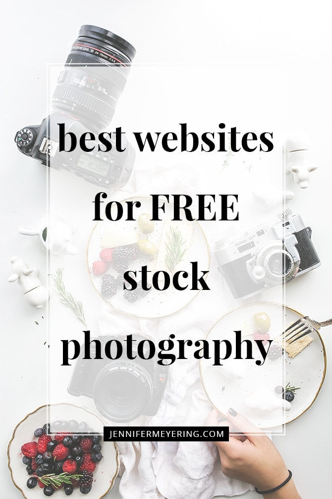 Best Websites for FREE Stock Photos - JenniferMeyering.com